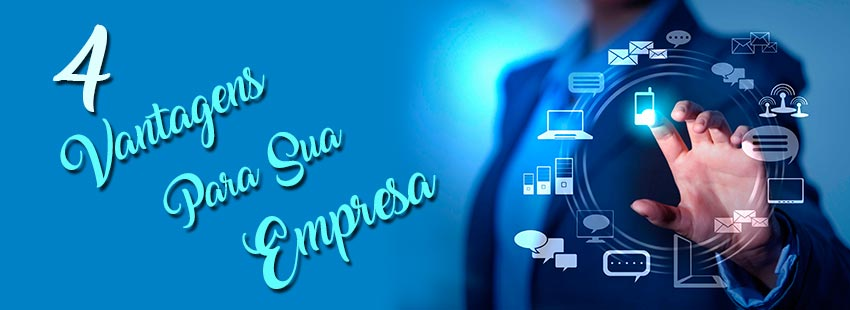 4 Vantagens em Ter Uma Empresa On-line